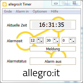 allegro:it Alarm-Timer