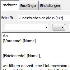 ProAdress Serien E-Mail